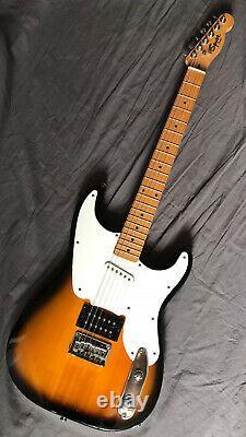 Rare Fender Squier 51 Telecaster Stratocaster Hybrid Electric Guitar New Strings