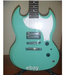 Rare Gibson SG-X Light Blue 6 Strings Electric Guitar Shipped from Japan