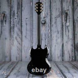 SG Custom 2-Pickup Ebony 6 strings electric guitar mahogany Chinese Edition New