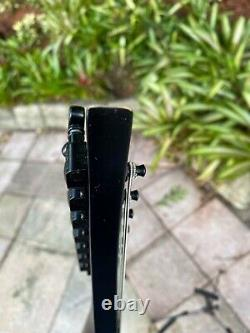 Solar A1.7. ETC Carbon Black Matte 7 String Evertune Electric Guitar Ola Englund