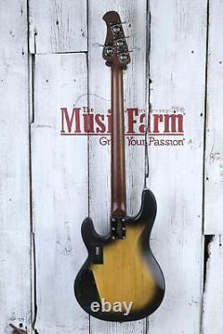 Sterling by Music Man StingRay34 HH 4 String Electric Bass Guitar with Gig Bag