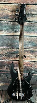 Sterling by Music Man StingRay Ray35HH 5-String Electric Bass- Stealth Black