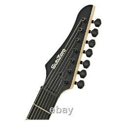 SubZero Generation 7 Electric Guitar 7-String Jet Black
