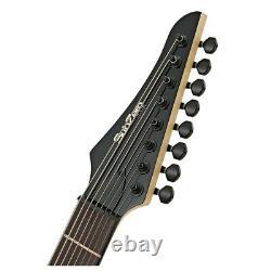 SubZero Generation 8 Electric Guitar 8-String Jet Black