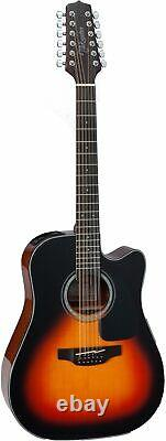 Takamine GD30CE-12 12-String Dreadnought Acoustic-Electric Guitar Sunburst