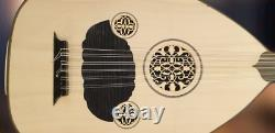 Turkish Lute Acoustic / Electric Oud Handmade Wood High Q Original Size + Case