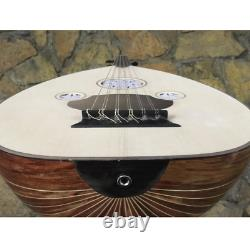 Turkish Lute Acoustic Oud / Electric Oud Handmade Wood HQ Original Size + Case