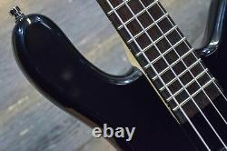 Warwick Rockbass Streamer LX 4-String Solid Black Electric Bass #RB-E-533854-14