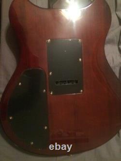 Wechter electric guitar 6 string with guitar synthesizer capabilities
