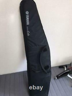 YAMAHA Silent Cello SVC50 Acoustic-Body Electric cello withHeadphone Case New
